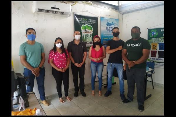 SEMMAT realiza reunião de Planejamento de ações para enfrentamento das queimadas no município de Davinópolis