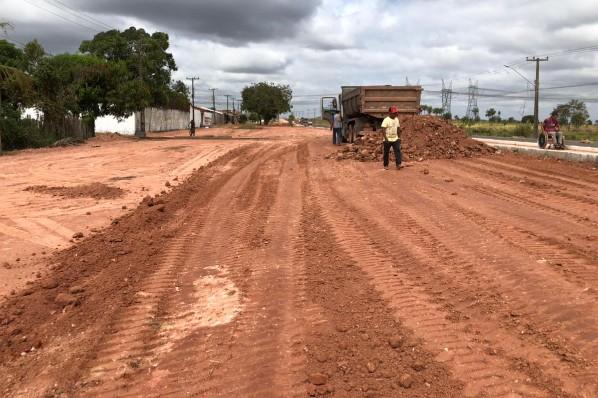 Ação visa melhorar aspecto urbanístico após o portal da cidade de Davinópolis