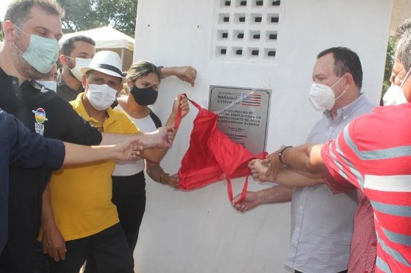 Agente de saúde comemora conquista e diz sistema de água vai melhorar a qualidade de vida dos moradores
