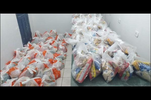 1.200 kits da merenda escolar começam a ser distribuídos em Davinópolis