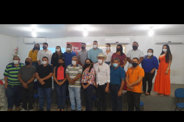 Educação: Representantes do município de Davinópolis participam de reunião na URE em Imperatriz